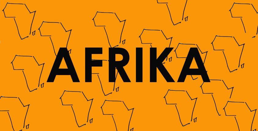 Afrika-Vorderseite