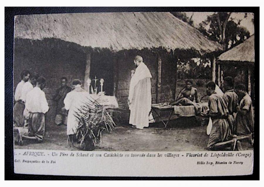 Scheut-Missionar im Bas Congo