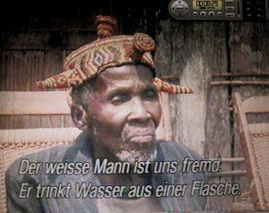 Ältester mit Abzeichen seiner Würde, Dewisch 1991 swr