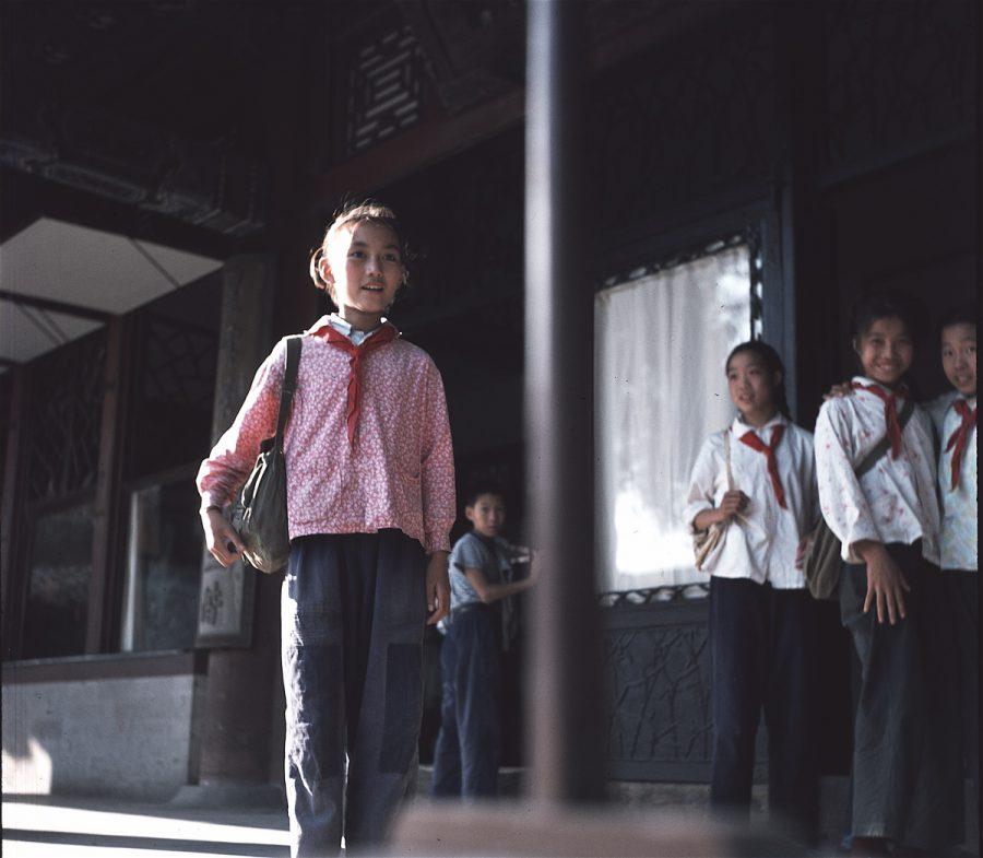 Peking - Schülerin in der Verbotenen Stadt