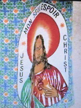 'MON SEUL ESPOIR JESUS CHRIST' - KLEIDER & LEUTE, KONGO, ARTE 2010