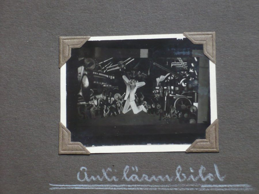 """Antilärmbild"" 1930 - Kontext?"