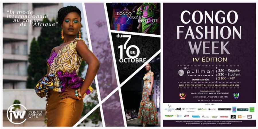 «Congo Fashion Week» du 07 -10 oct 15 Kinshasa lecongolais.cd