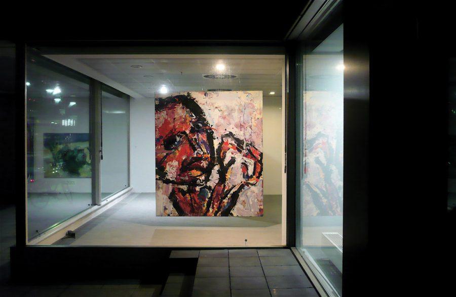 Galerie nachts 25.11.2008 Foto : Autor