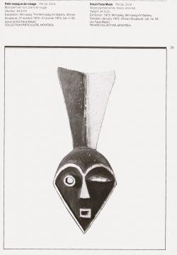 '25 Sculptures africaines' Ottawa 1978, no.7, p.79 rot-weiß H: 34,3 cm