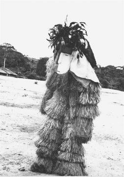 Mvudi, peuple Nzabi, Cetre Gabon 1967