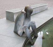 Figur des Neptun-Brunnen in Bremen