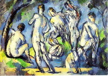 Cezanne Männerstudien Beyeler 2009