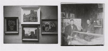Wolters im Atelier Lefèvre und Ausstellung Köln