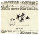 Flora- Raben für Tauben 1966