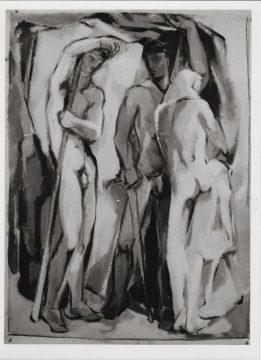 Foto einer Arbeit 1934-36