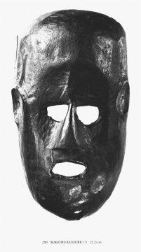 Felix-MwanaHiti no.280 -Maske der Kaguru/Luguru?