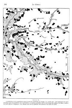 LE KWILU-Fig.34 nördl. Gungu Bevölkerung Kreis=100 weiss=Savanne g