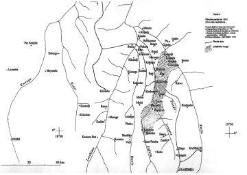 Karte Kwilu 1931- Vanderstaedten