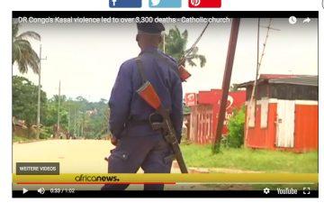 africanews 2017 kasai violence