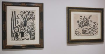 Matisse-Tuschzeichnungen.IMG_3823