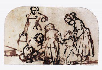 Hockney 41,Rembrandt