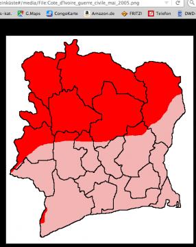 """Wikipedia """"Bürgerkrieg in der Elfenbeinküste"""" (13.4.2018)"""