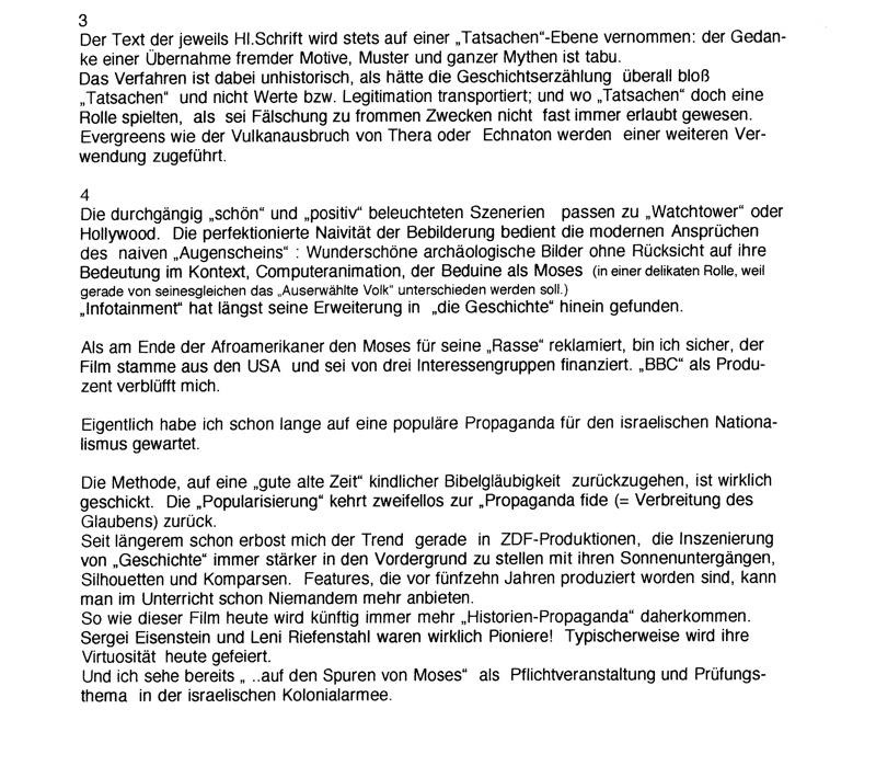"""""""Auf den Spuren von Moses"""" ARTE-2"""